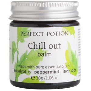 photo of jar of chill out balm