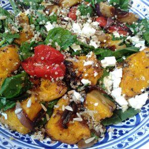 Roast Pumpkin and Quinoa Salads